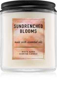 Bath & Body Works Sundrenched Blooms Duftkerze  198 g