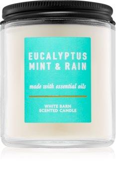 Bath & Body Works Eucalyptus Mint & Rain Scented Candle 198 g