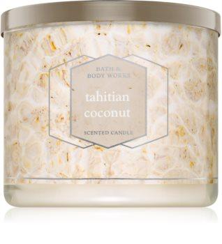 Bath & Body Works Tahitian Coconut vonná svíčka 411 g