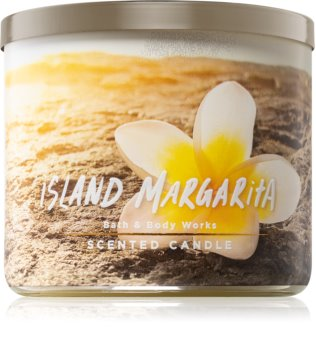Bath & Body Works Island Margarita bougie parfumée III. 411 g