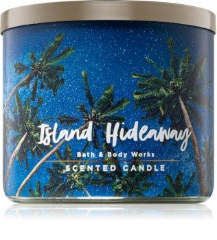 Bath & Body Works Island Hideaway bougie parfumée