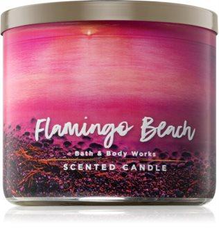 Bath & Body Works Flamingo Beach vonná svíčka 411 g
