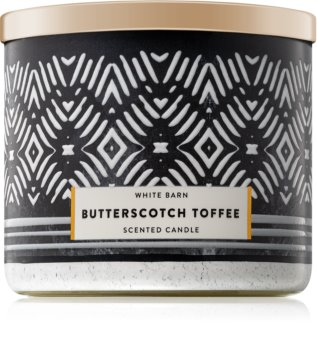 Bath & Body Works White Barn Butterscotch Toffee Scented Candle 411 g