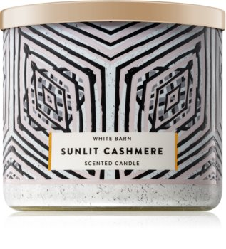 Bath & Body Works Sunlit Cashmere Duftkerze  411 g