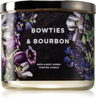Bath & Body Works Bow Ties & Bourbon vonná svíčka 411 g