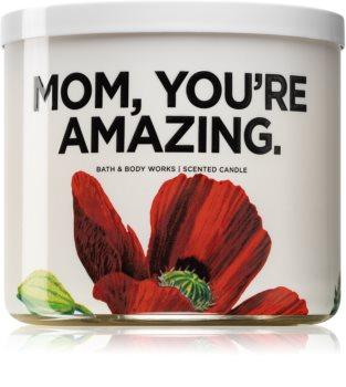 Bath & Body Works Watermelon Lemonade vonná svíčka (Mom, you're amazing) 411 g