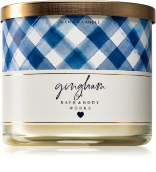 Bath & Body Works Gingham scented candle 411 g