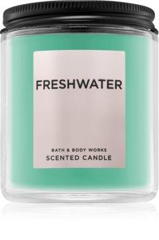Bath & Body Works Freshwater bougie parfumée 198 g