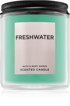 Bath & Body Works Freshwater Duftkerze  198 g