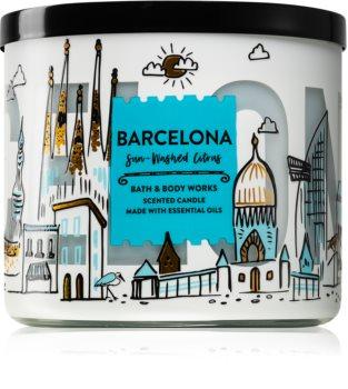 Bath & Body Works Sun-Washed Citrus vonná svíčka II. (Barcelona) 411 g