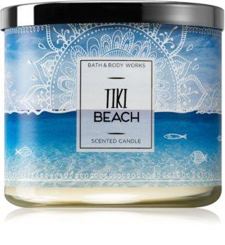 Bath & Body Works Tiki Beach vonná svíčka 411 g