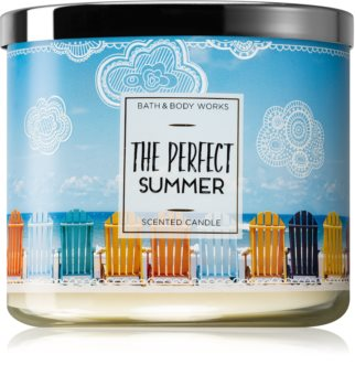 Bath & Body Works The Perfect Summer bougie parfumée 411 g
