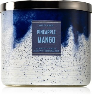 Bath & Body Works Pineapple Mango vonná svíčka II. 411 g