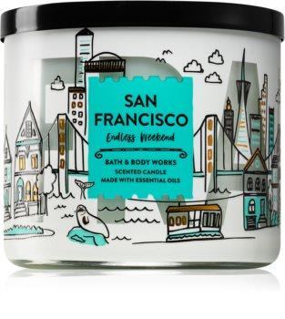 Bath & Body Works Endless Weekend bougie parfumée II. (San Francisco) 411 g