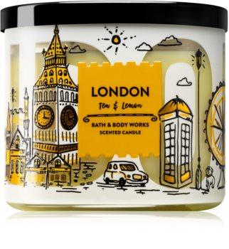 Bath & Body Works Tea & Lemon vonná svíčka (Lodon) 411 g
