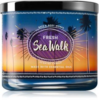 Bath & Body Works Fresh Sea Walk vonná svíčka 411 g