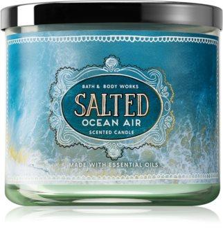 Bath & Body Works Salted Ocean Air duftkerze  411 g