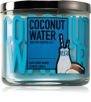 Bath & Body Works Coconut Water duftkerze  411 g