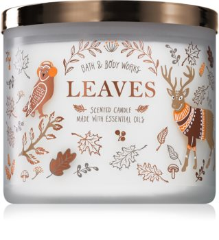 Bath & Body Works Leaves scented candle