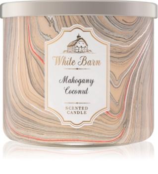 Bath & Body Works White Barn Mahogany Coconut lumanari parfumate    I.
