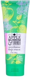 Bath & Body Works Apple Blossom & Lavender telový krém pre ženy 226 g