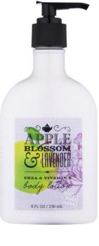 Bath & Body Works Apple Blossom & Lavender tělové mléko pro ženy 236 ml