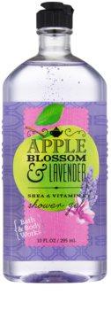 Bath & Body Works Apple Blossom & Lavender sprchový gél pre ženy 295 ml