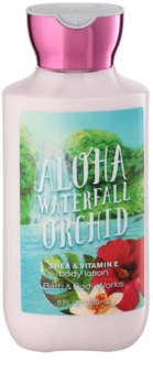 Bath & Body Works Aloha Waterfall Orchid mleczko do ciała dla kobiet 236 ml