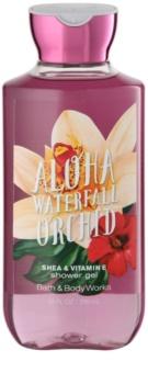 Bath & Body Works Aloha Waterfall Orchid Duschgel für Damen 295 ml