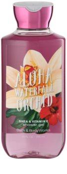 Bath & Body Works Aloha Waterfall Orchid gel de dus pentru femei 295 ml