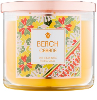 Bath & Body Works Beach Cabana vonná svíčka 411 g