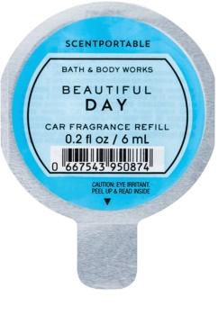 Bath & Body Works Beautiful Day parfum pentru masina 6 ml Refil