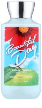 Bath & Body Works Beautiful Day telové mlieko pre ženy 236 ml