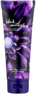 Bath & Body Works Black Amethyst creme corporal para mulheres 226 g