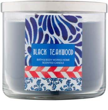 Bath & Body Works Black Teakwood Geurkaars 411 gr
