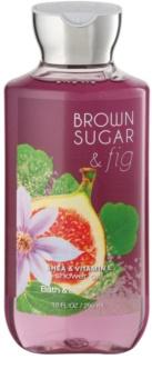 Bath & Body Works Brown Sugar and Fig gel za prhanje za ženske 295 ml