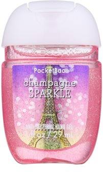 Bath & Body Works PocketBac Champagne Sparkle Gel antibacterial pentru maini.