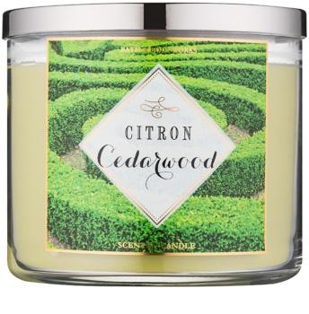 Bath & Body Works Citron Cedarwood świeczka zapachowa  411 g