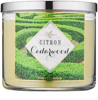 Bath & Body Works Citron Cedarwood vonná sviečka 411 g