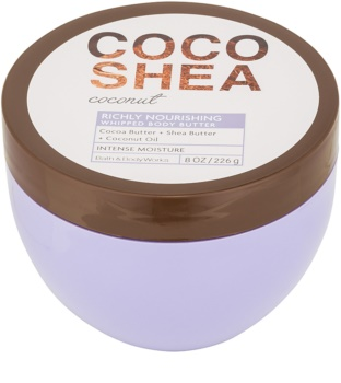 Bath & Body Works Cocoshea Coconut burro corpo per donna 226 g