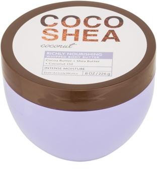 Bath & Body Works Cocoshea Coconut telové maslo pre ženy 226 g