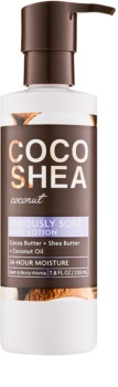Bath & Body Works Cocoshea Coconut lapte de corp pentru femei 230 ml