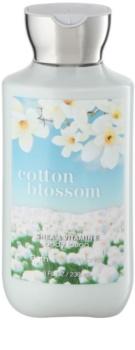 Bath & Body Works Cotton Blossom leite corporal para mulheres 236 ml
