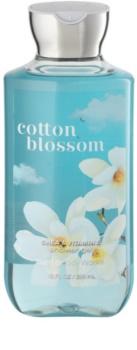 Bath & Body Works Cotton Blossom gel de douche pour femme 295 ml