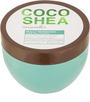 Bath & Body Works Cocoshea Cucumber telové mlieko pre ženy 226 g