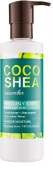 Bath & Body Works Cocoshea Cucumber Body lotion für Damen 230 ml