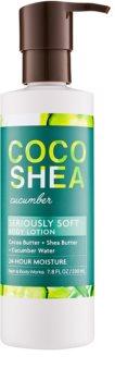 Bath & Body Works Cocoshea Cucumber mleczko do ciała dla kobiet 230 ml