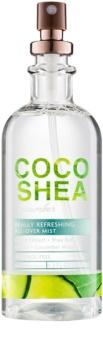 Bath & Body Works Cocoshea Cucumber tělový sprej pro ženy 156 ml