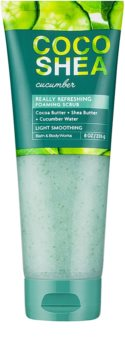 Bath & Body Works Cocoshea Cucumber Bodyscrub voor Vrouwen  226 gr