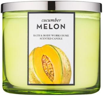 Bath & Body Works Cucumber Melon świeczka zapachowa  411 g